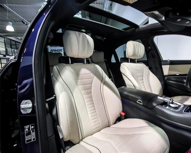 Alquiler Mercedes clase S con conductor