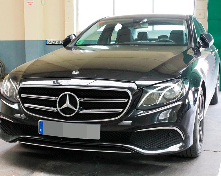 Alquiler de Mercedes Clase E con conductor
